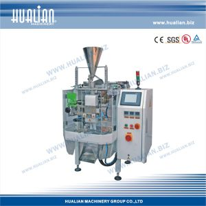 Hualian 2017 Weighing Filling Sealing Machine (HLNV-340) pictures & photos