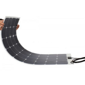 Customized Designed Home Solar Systems Semi Flexible Solar Panel 100W pictures & photos
