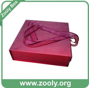 Metallic Paper Gift Box / Folding Keepsake Box pictures & photos