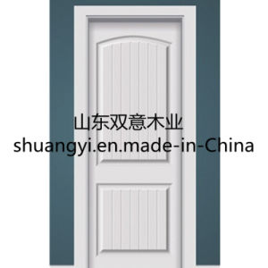 Features PVC/MDF Classic Wooden Door pictures & photos