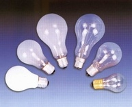 15W/25W/40W/60W/100W/150W/200W Incandescent Bulbs, General Bulbs, Light Lamps, Clear Bulbs, Frosted Bulbs
