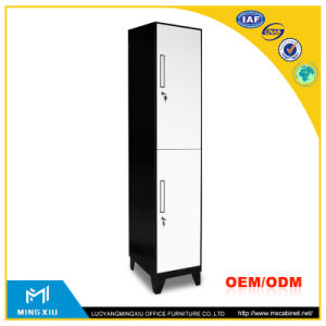 Luoyang Mingxiu Manufacturer Office Kd Double Door Steel Locker/2 Tier School Steel Locker pictures & photos