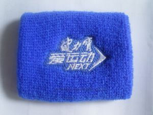 Beverage Sports Game Promotional Gift Cotton Logo Sweat Band pictures & photos