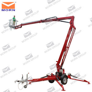 6m Trailing Portable Work Platform for Aerial Work pictures & photos