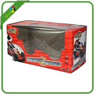 Folding Paper Box with PVC Window for Toy Car pictures & photos