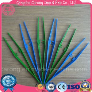Disposable Medical Plastic Tweezers/ Surgical Forceps pictures & photos