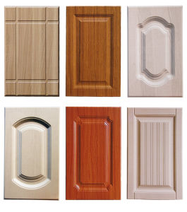 China Kitchen Furniture Parts PVC Kitchen Cabinet Door - China ...