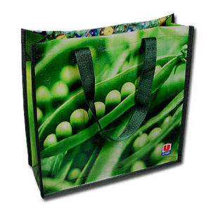 Grocery Promotional Matt, Glossy Laminated PP Woven Shopping Bag pictures & photos
