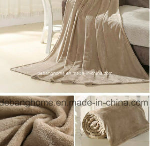 2015 Manufacturer Best Selling Coral Fleece Flannel Blanket pictures & photos