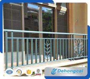 Exterior Aluminium Balcony Balustrade / Decorative Galvanized Wrought Iron Balcony Railing pictures & photos