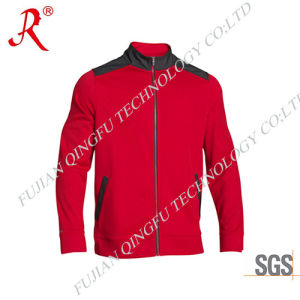 New Design Men′s Fleece Jacket with Top Quality (QF-4095) pictures & photos