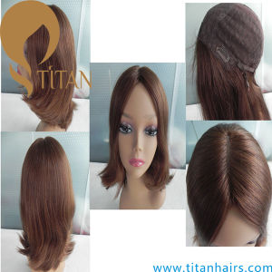 Natural Wave Front Lace Wig Remy Human Hair Women′s Wig