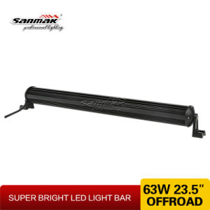 63W High Power Very Thin Size CREE off Road LED Light Bar pictures & photos
