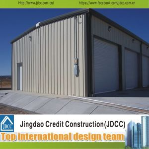 Low Cost and High Quality Garage Steel Structure pictures & photos