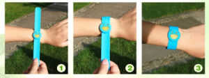 Adjustable 100% Citronella Silicon Mosquito Repellent Band pictures & photos