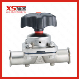 Sanitary Straight Pharmacy Clamp Diaphragm Valve with Plastic Handle pictures & photos