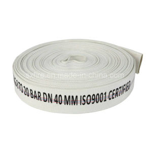 Fire Fighting Sets 2.5 Inch 8bar PVC Lining White Fire Hose for Water Transporting pictures & photos
