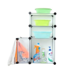 Plastic DIY Storage Cbinet with Many Colors Available (FH-AL0611) pictures & photos