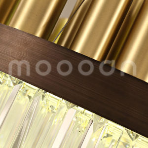 Modern Gold Brass Color Luxury Big Round K9 Crystals Chandelier Lighting pictures & photos