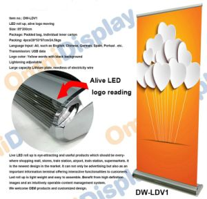 LED Display Roll up Stand (DW-LDV1) pictures & photos