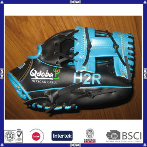 Made in China Cheap Price PVC Leather Baseball Glove for Sale pictures & photos