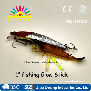 1′′ Solid Glow Stick Fishing Night Lights pictures & photos