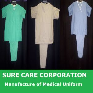 Medical Disposable Hospital Nonwoven Surgeon Isolation Surgical Gown (SC-SG001) pictures & photos