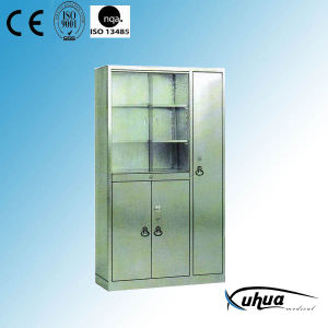 Stainless Steel Hospital Medical Injection Cupboard (U-14) pictures & photos
