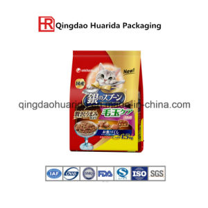 Plastic Pet Food Packaging Bag with Zipper and Clear Window pictures & photos