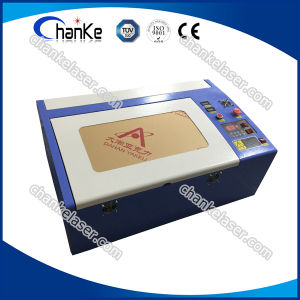 400X400 40W Mini Rubber Stamp Laser Engraving Machine pictures & photos