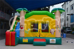 Inflatable Kids Jungle Bouncer Combo (CHB337) pictures & photos