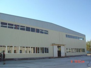 High Rise and Large Span Steel Structure Workshop Building pictures & photos