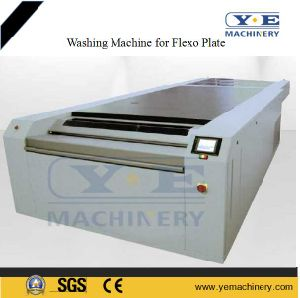 1400mm Flexo Plate Washing Machine for Corrugated Paper Board (YEXB Series) pictures & photos