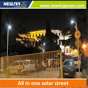 New 80W Integrated All in One LED Solar Street Light pictures & photos
