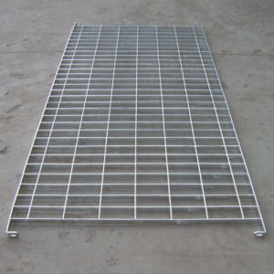 Grid Hot DIP Galvanized Steel Fencing Making by Steel Flat pictures & photos