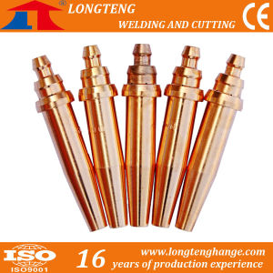 G02 Brass Cutting Nozzle Aume Cutting Tips Cutting Torch CNC Cutting Machine Use pictures & photos