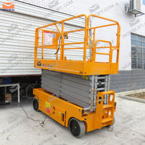 Hydralic Mobile Scissor Lift 220V pictures & photos