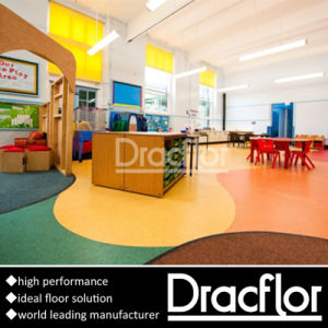 Carefree Eco-Friendly PVC Flooring for Children pictures & photos