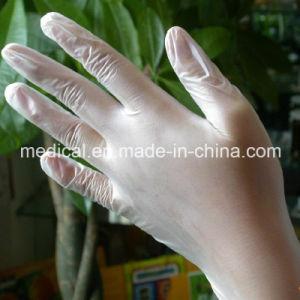 Disposable Examination Glove PVC Gloves pictures & photos