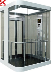 Kjx-G106 Panoramic Elevator with AC Driving pictures & photos