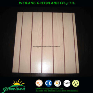 Grooved Plywood with Paper Overlaid pictures & photos