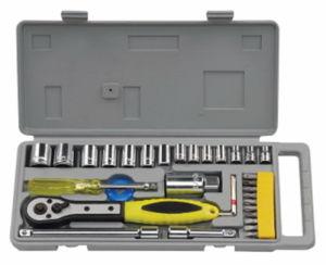 "34PCS Socket Set (1/4""&3/8"")"