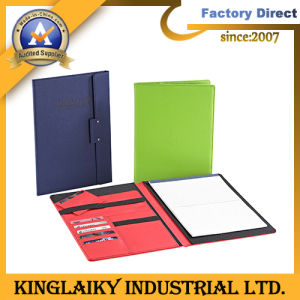Promotional PU A4 Portfolio with Customized Logo (MF-03) pictures & photos