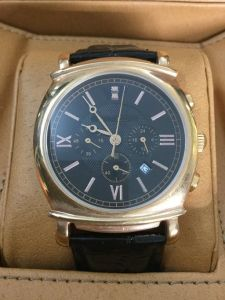 Means Quartz Watch with Pushers and 3eyes on Dial with Date Window pictures & photos