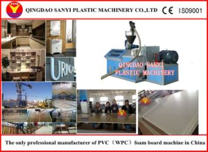 PVC WPC Building Template Extrusion Machine pictures & photos