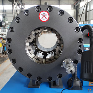 Ce Qualified Hydraulic Press Hose Crimping Machine pictures & photos