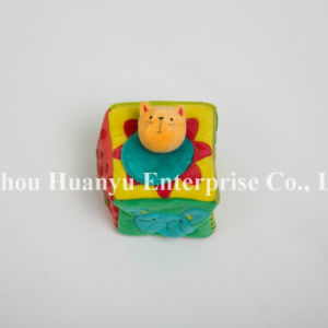 Factory Supply of New Designed Baby Stuffed Plush Block Toy pictures & photos