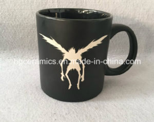 20oz Black Mug with Laser Engraved Logo, Laser Engraved Ceramic Mug pictures & photos