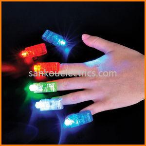 LED Finger Light, Party Finger Flashing Light, Fun Gadget Finger Beam Light