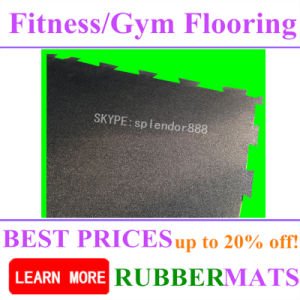 10-50mm Thickness Heavy Duty Rubber Gym Flooring pictures & photos